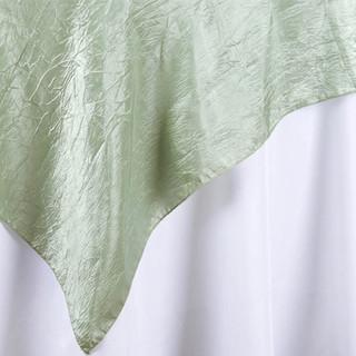 "72"" Taffeta Crinkle Overlay Reseda Green"
