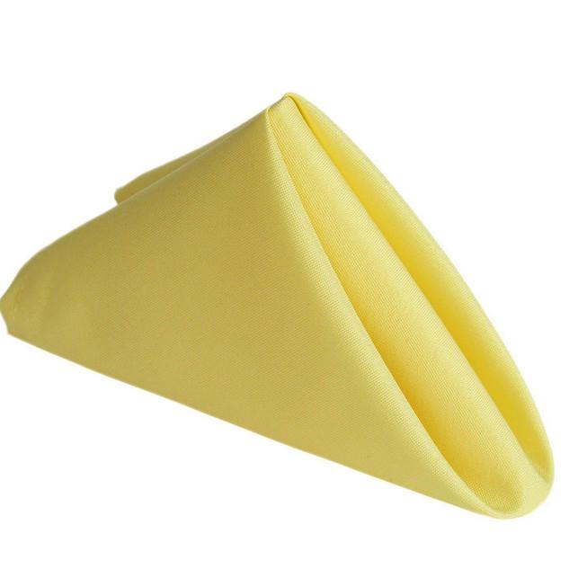 Polyester Napkin Yellow