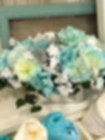 Teal Head Table Accent Centerpiece 17_