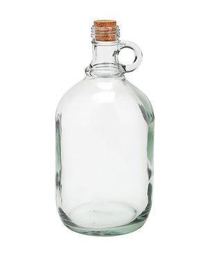 Clear Glass Growler 32oz