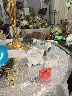 Jody's Decor showroom photo - wedding decor