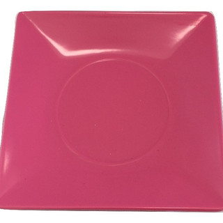 Hot Pink Square Acrylic Plate