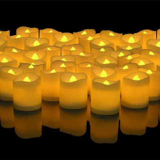 LED Lighted Flickering Votive Candles