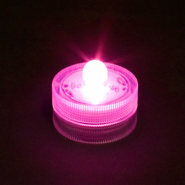 LED Submersible Light Pink
