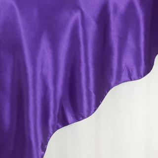 """72"""" Satin Overlay Purple"""