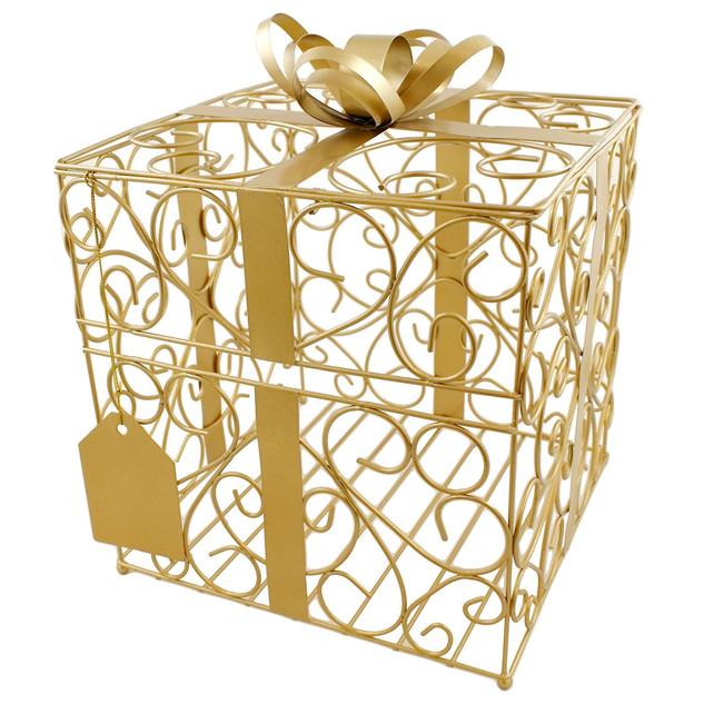 Reception Gift Card Holder Gold