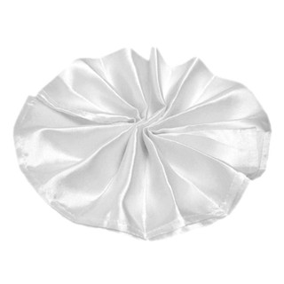 Satin Napkin White
