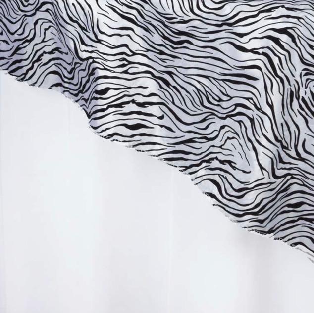 """72"""" Taffeta Velvet Flocking Tiger"""