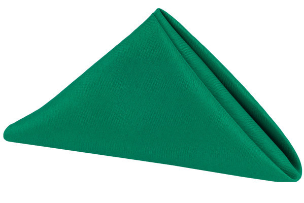 Polyester Napkin Emerald Green