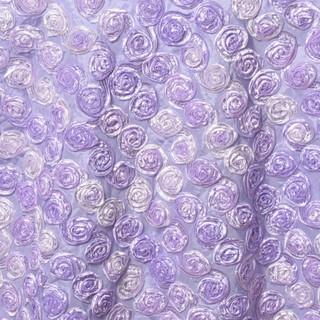 """72"""" Triple-Tone Mini Rosettes Lavender Umbre"""