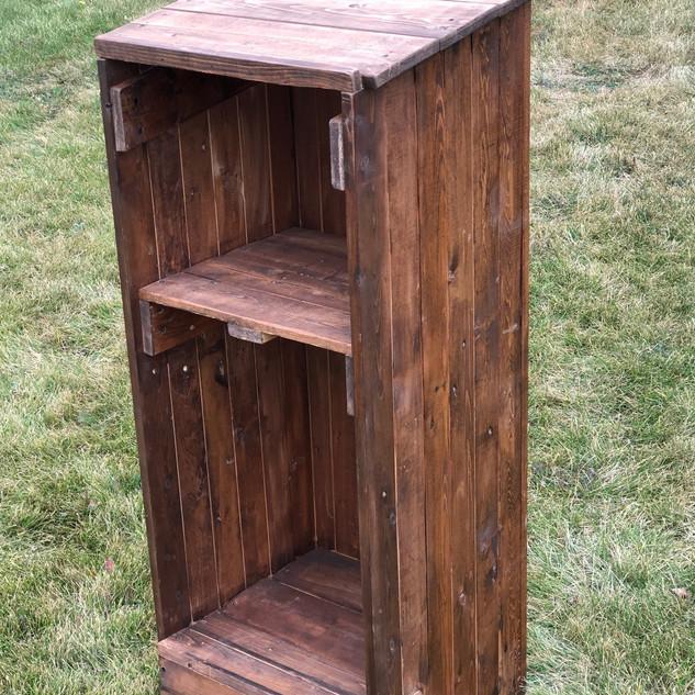 Rustic Wood Podium