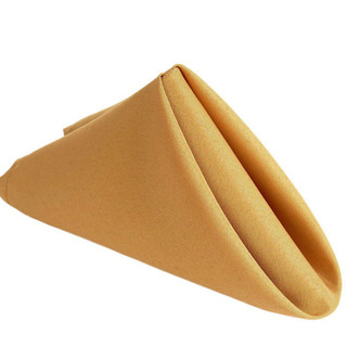 Polyester Napkin Gold