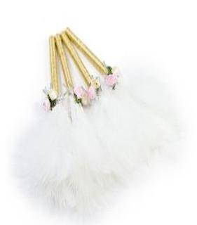 Feather Pen White