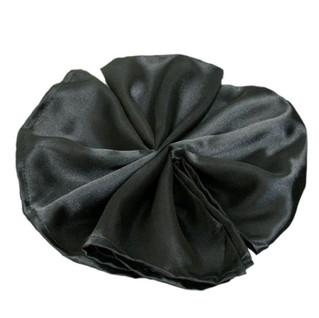 Satin Napkin Black