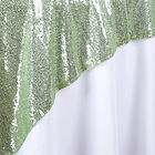 72_ Sequin Square Overlay Tea Green