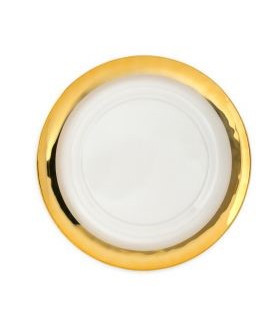 """Band Gold Clear Charger Plate 13"""""""
