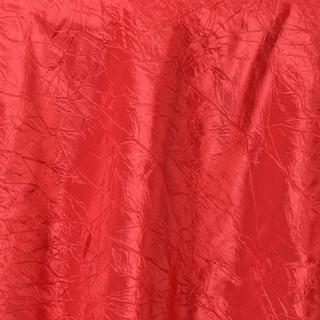 """72"""" Taffeta Crinkle Overlay Red"""