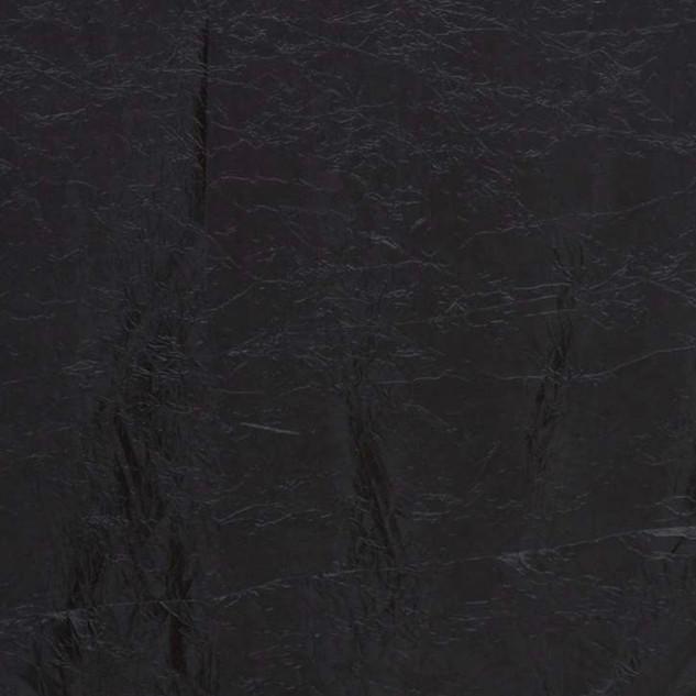 """72"""" Taffeta Crinkle Overlay Black"""