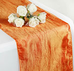 Taffeta Crinkle Runner Orange
