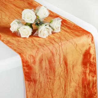 Taffeta Crinkle Runner Orange