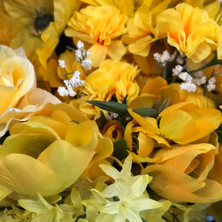 Accent Flowers - Dark Yellow