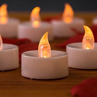 LED Tealight Candle White