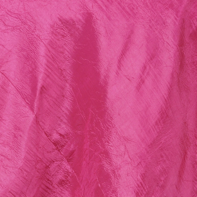 "72"" Taffeta Crinkle Overlay Fuchsia"