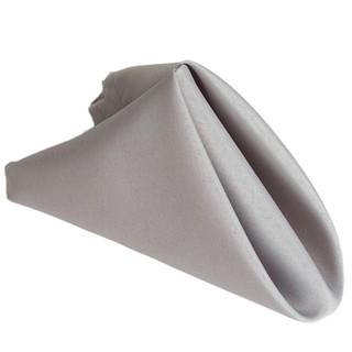 Polyester Napkin Silver