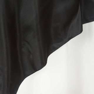 "72"" Satin Overlay Black"