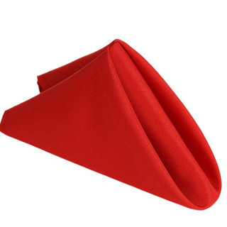 Polyester Napkin Red