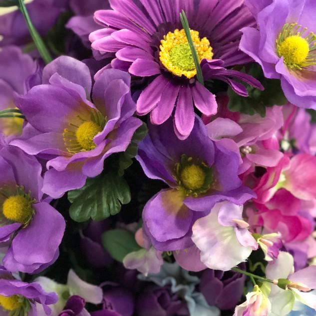 Accent Flowers - Purple