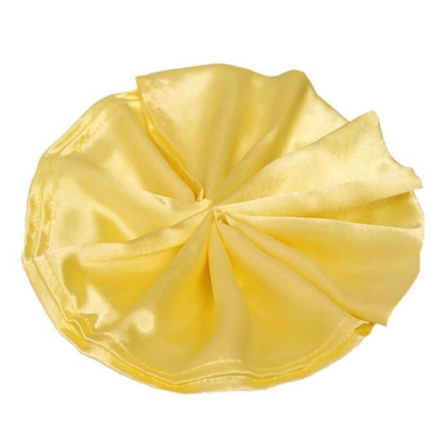 Satin Napkin Yellow