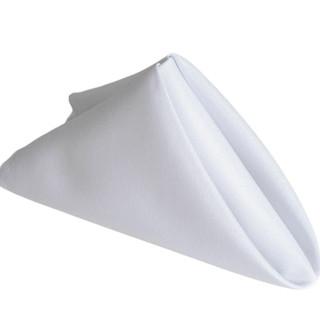 Polyester Napkin White