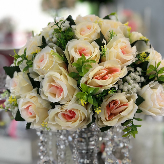 Floral Centerpiece Embellishment - Pink