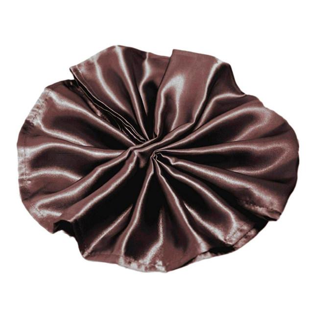 Satin Napkin Chocolate