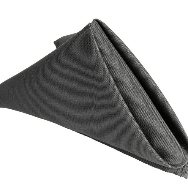 Polyester Napkin Charcoal
