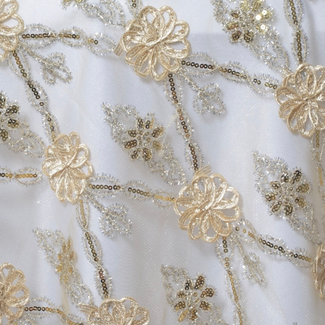 "72"" Extravagant Fashionista Lace Netting"