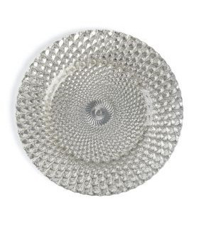 Athena Silver Charger Plate 13'