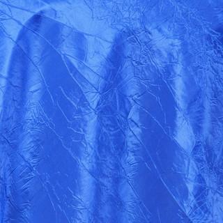 "72"" Taffeta Crinkle Overlay Royal Blue"