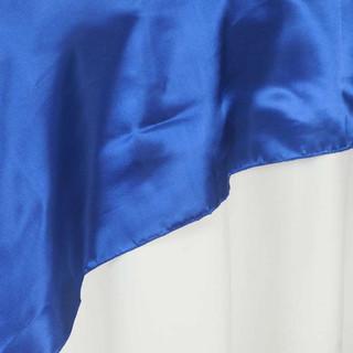 "72"" Satin Overlay Royal Blue"