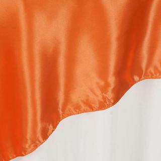 "72"" Satin Overlay Orange"