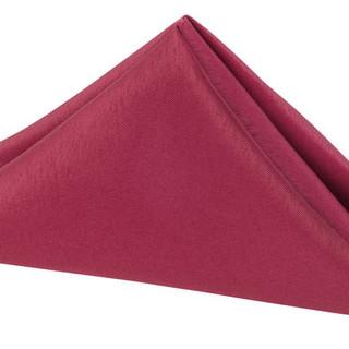 Polyester Napkin Cranberry