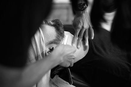A Cut-Throat Shave from Gold Coasts best barber shop