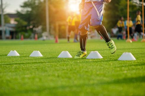 Soccer Football Training Session for Kid