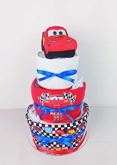 Baby Boy Cars Nappy Cake