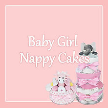 Baby Girl Nappy Cakes - Baby Shower Gifts Brisbane
