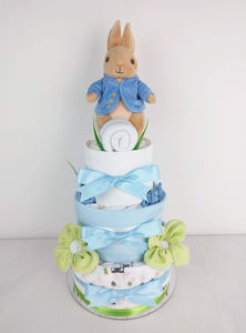 Peter Rabbit Nappy Cake By Cakes Emma