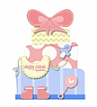 Nappy Cakes by Emma | Nappy Cakes delivering to Brisbane, Sydney, Melbourne& more. Perfect baby shower gift and baby hamper for newborns.