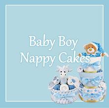 Baby Boy Nappy Cakes - Newborn Baby Presents Sydney