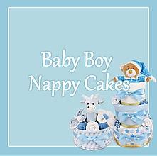 Baby Boy Nappy Cakes - Newborn Baby Gifts Sydney